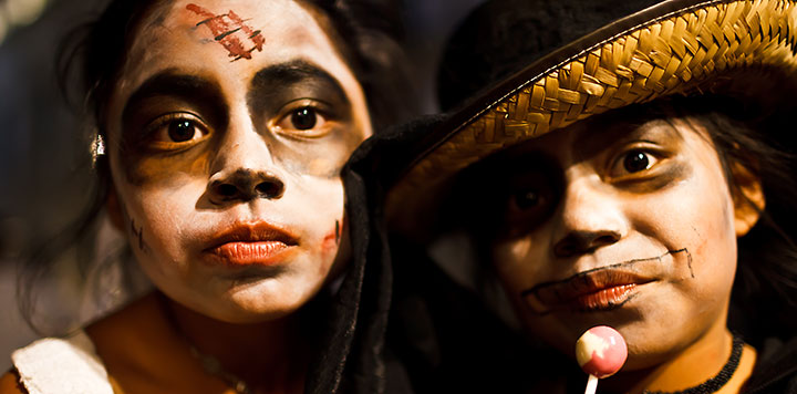 Meksika 'da Ölüler Günü Festivali Fotoğraf ve Yazısı