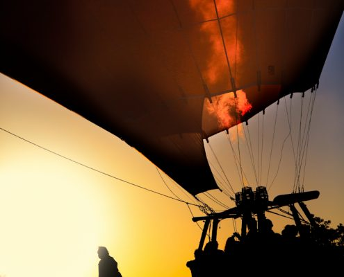 Hot Airballoon Take Off © Enis Yücel